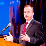 Governor Markell speaking at NGA Annual Meeting in Williamsburg, Virginia